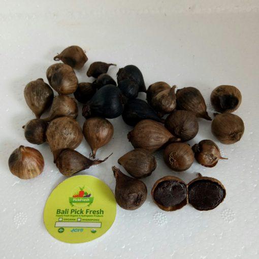 single black garlic